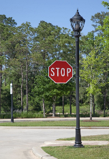 whatley-cf50-residential-light-pole-stop-sign