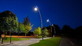 Project Lead: Thorn | Installation: Derby University | Product: Valmont Sillem Poles-gh3