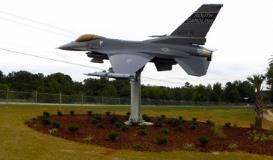 Columbia Galvanizing McEntire Air National Guard Display Pedestal