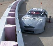 Galvanized NASCAR SAFER Barrier 1