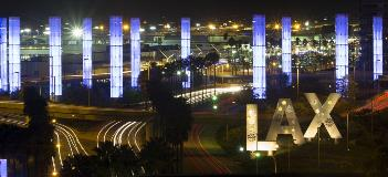 Galvanizing - LAX Airport Pylon