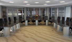 Valley Galvanizing Valmont Coatings Conference Table Pedstal Legs