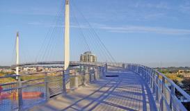 West Point Galvanizing Bob Kerry Pedestrian Bridge