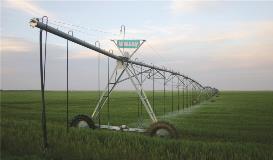 Galvanized Valley Irrigation Machine 1