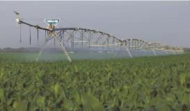 Galvanized Valley Irrigation Machine 2