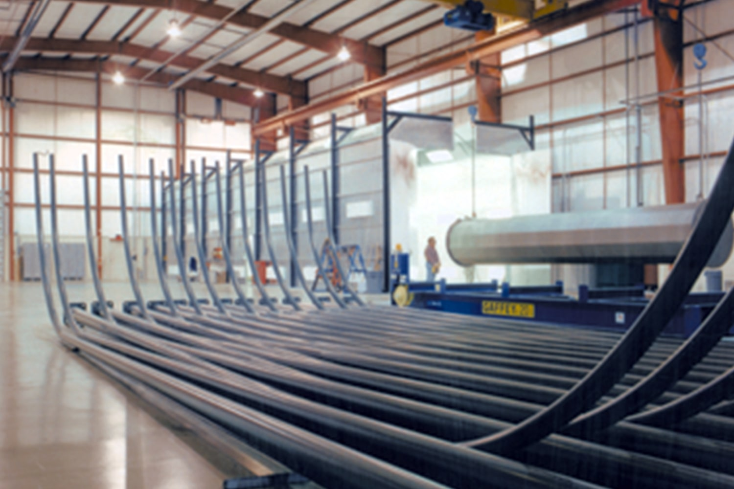 Coatings-curved-poles