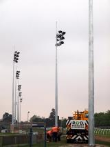 Cranbourne Race Track - Sports Lighting - Floodlighting Poles