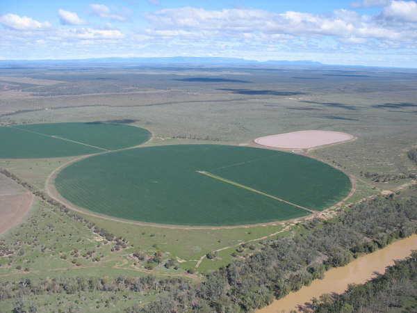 Center Pivots in Australia