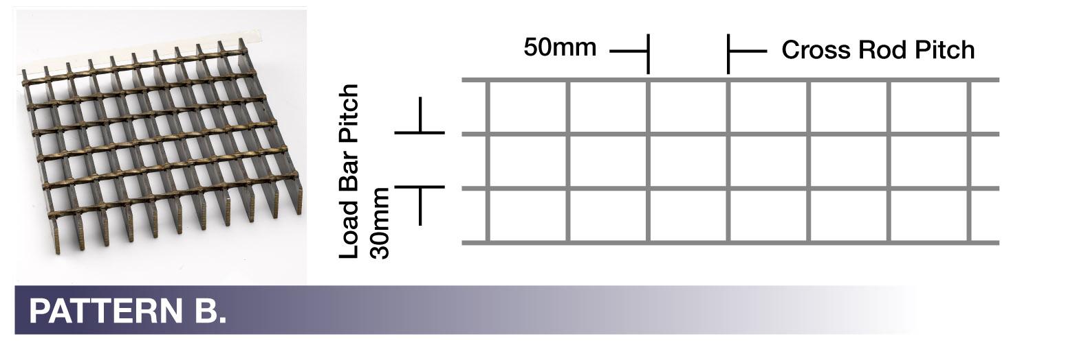 STEEL PATTERN B
