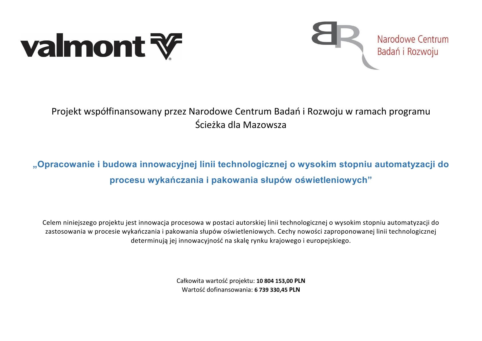 Valmont_linia_technologiczna_NCBR