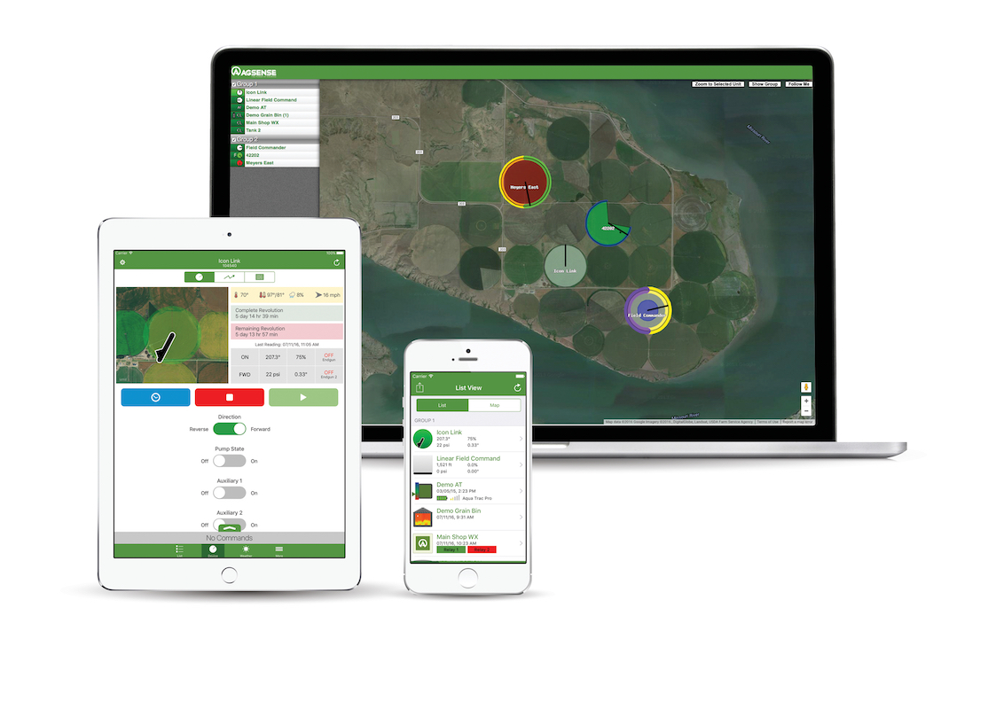 AgSense on multiple devices