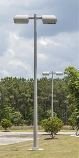 CMT-marathon-composite-light-poles-Jacksonville-NC