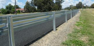 Ezy-Guard Smart MASH TL3 guardrail