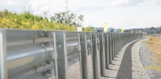 Ezy-Guard Smart MASH TL3 & TL2 guardrail