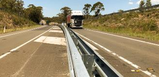 Picton Road - back to back guardrail