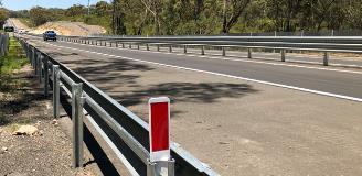 Picton Road - MASH guardrail