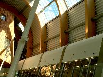 GALLERY-6-Products-Conical Steel-Bespoke-Selux-Alderhey Hospital