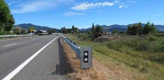 NZ picton guardrail