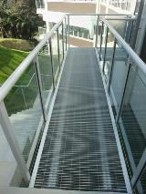 Bowen Hospital Karori Wellington NZ_Grating walkway