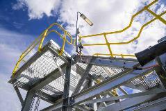 Grating & Handrail_QCLNG Plant AUS