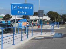 Perth Airport Monowills Handrail