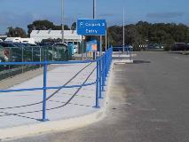 Perth Airport_Monowills Handrail