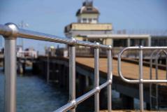 Stainless Steel Handrail_St Kilda Pier (Aus) 1