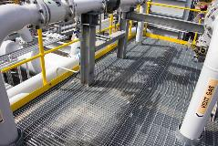 Steel Grating _ LNG Plant (AUS)