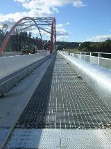 Taupo By-Pass Tenix - Fulton Hogan Grating bridge walkway