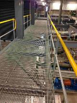 TeMihi Power Station mezzanine floor Steel Grating_Handrail