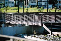 Waitangi Park Wellington Grating Balustrades
